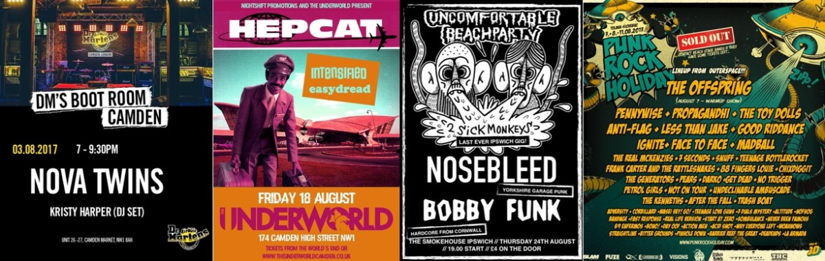 Gig Guide: Bands You Need To See InAugust