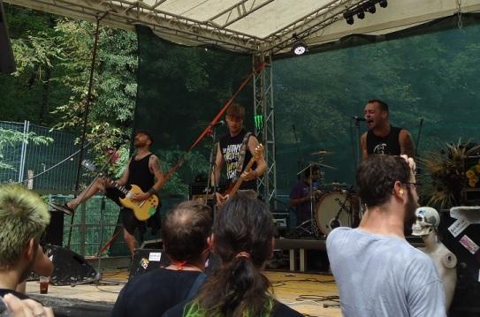 Corbillard Punk Rock Holiday