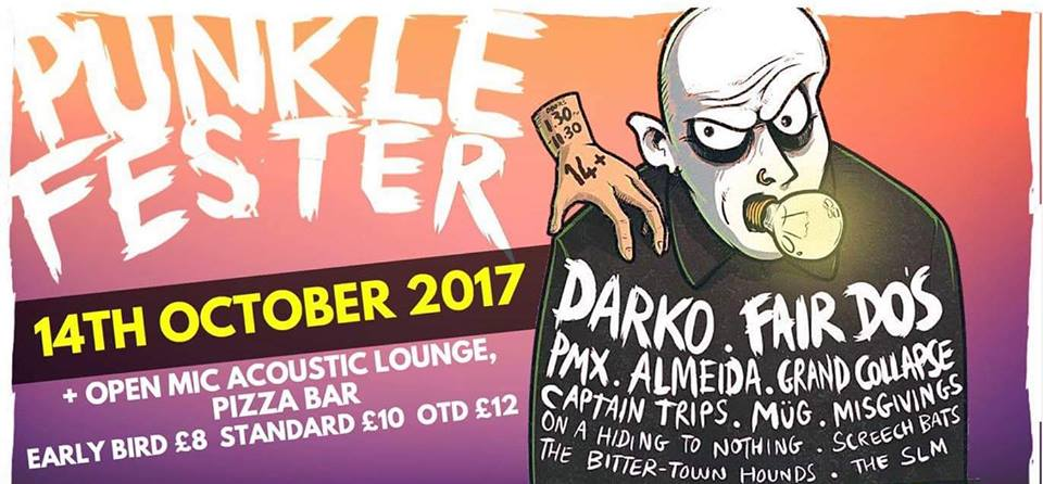 Gig Review: Punkle Fester [14/10/2017]