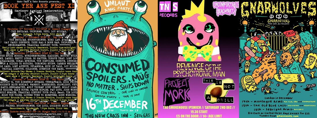 Gig Guide: Bands You Need To See In December