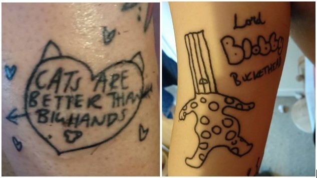 Kaz & Big Hands Tattoo