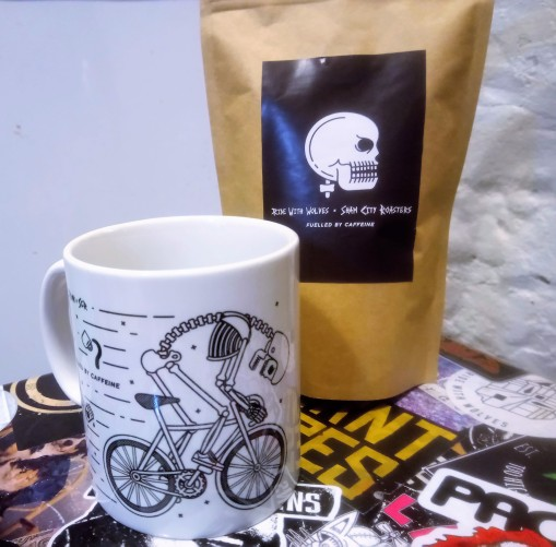 Sham City Roasters Ride With Wolves Fuelled by Caffeine 7