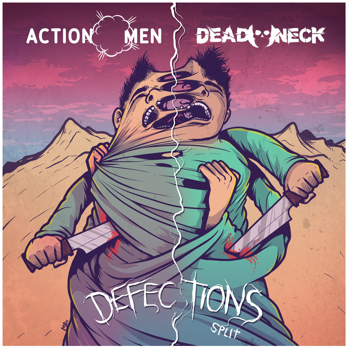 Album Review: Actionmen / Dead Neck – Defections (Split)