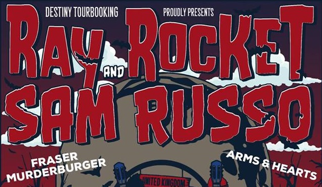 Gig Review: Ray Rocket & Sam Russo @ The Peer Hat [14/02/2018]