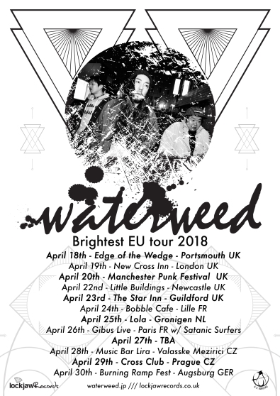 Waterweed Brightest EU Tour poster.jpg