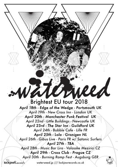 Waterweed Brightest EU Tour poster.jpg