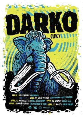 Darko Australia Tour Poster 2