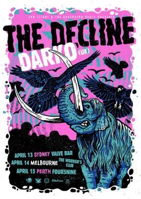 Darko Australia Tour Poster