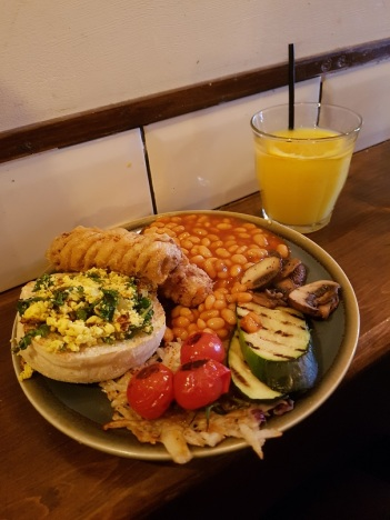 Full Nelson Vegan Breakfast