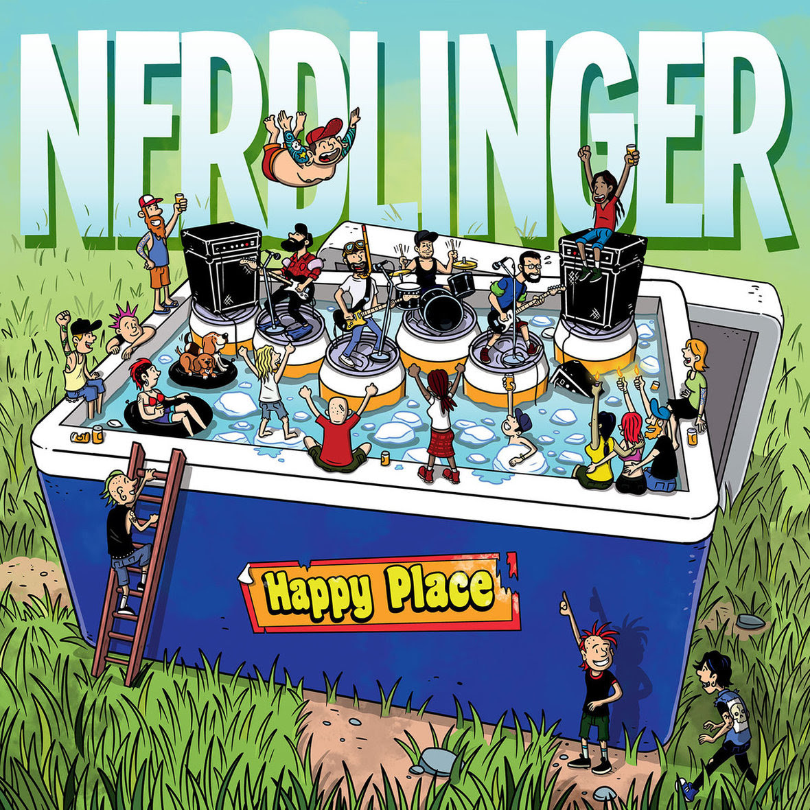 Album Review: Nerdlinger – Happy Place
