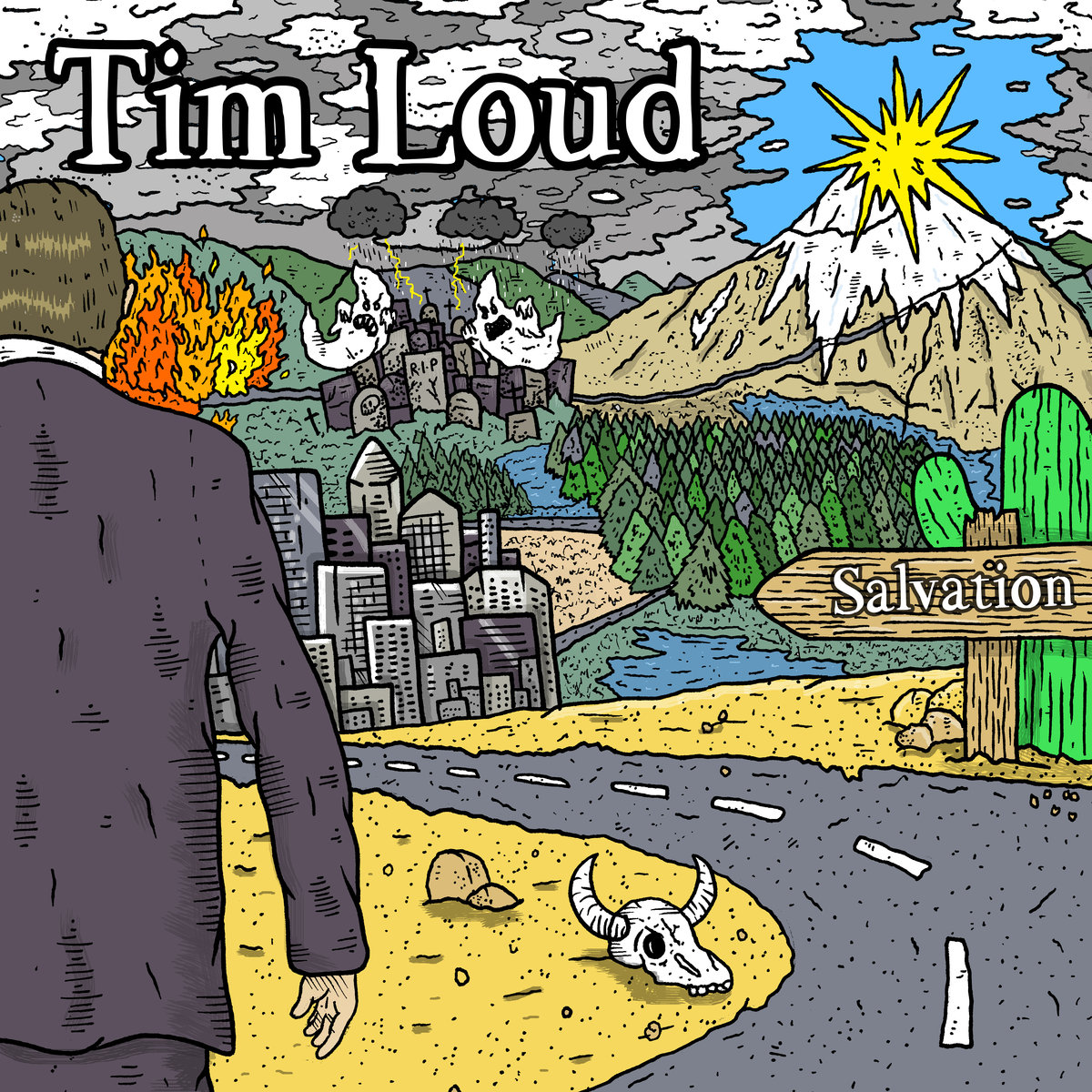 Tim Loud Salvation Album Cover
