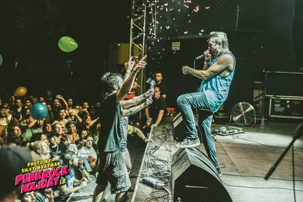 Authority Zero Punk Rock Holiday cred Silvy Maatman