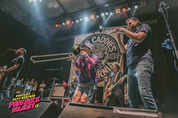 Mad Caddies Punk Rock Holiday cred Silvy Maatman