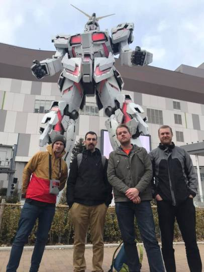 Fair Do's Gundam Statue