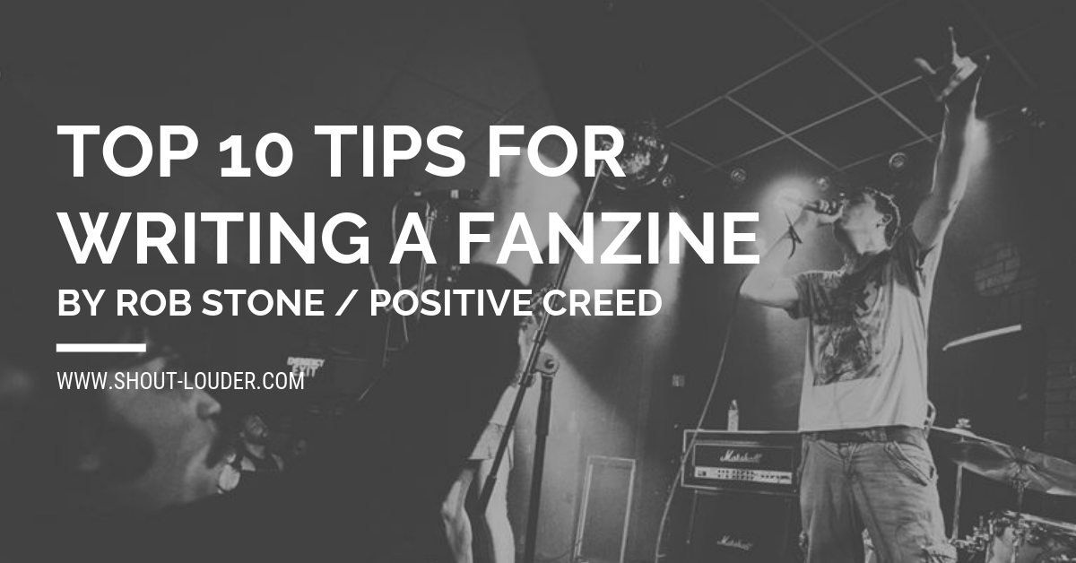 Top 10 Tips For Writing A Fanzine