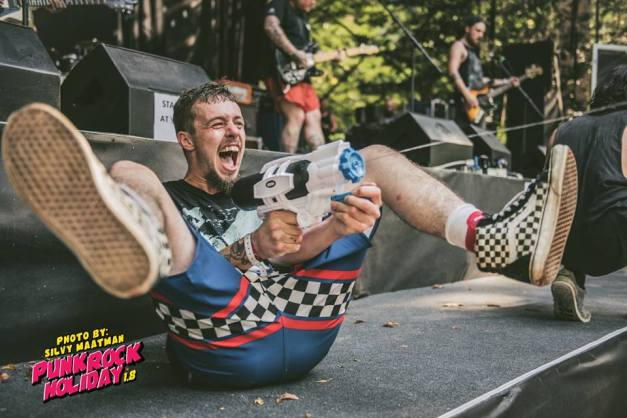 Ducking Punches 2 Punk Rock Holiday cred Silvy Maatman