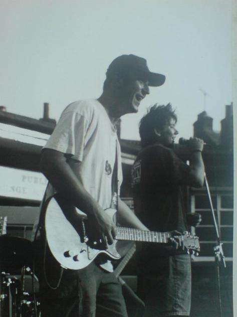 18 Wisbech Bowling Green gig 1995