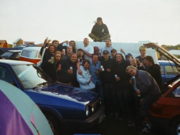 8 Newquay Run To The Sun Festival 1999 with Consumed Goober Patrol and One Car Pile Up