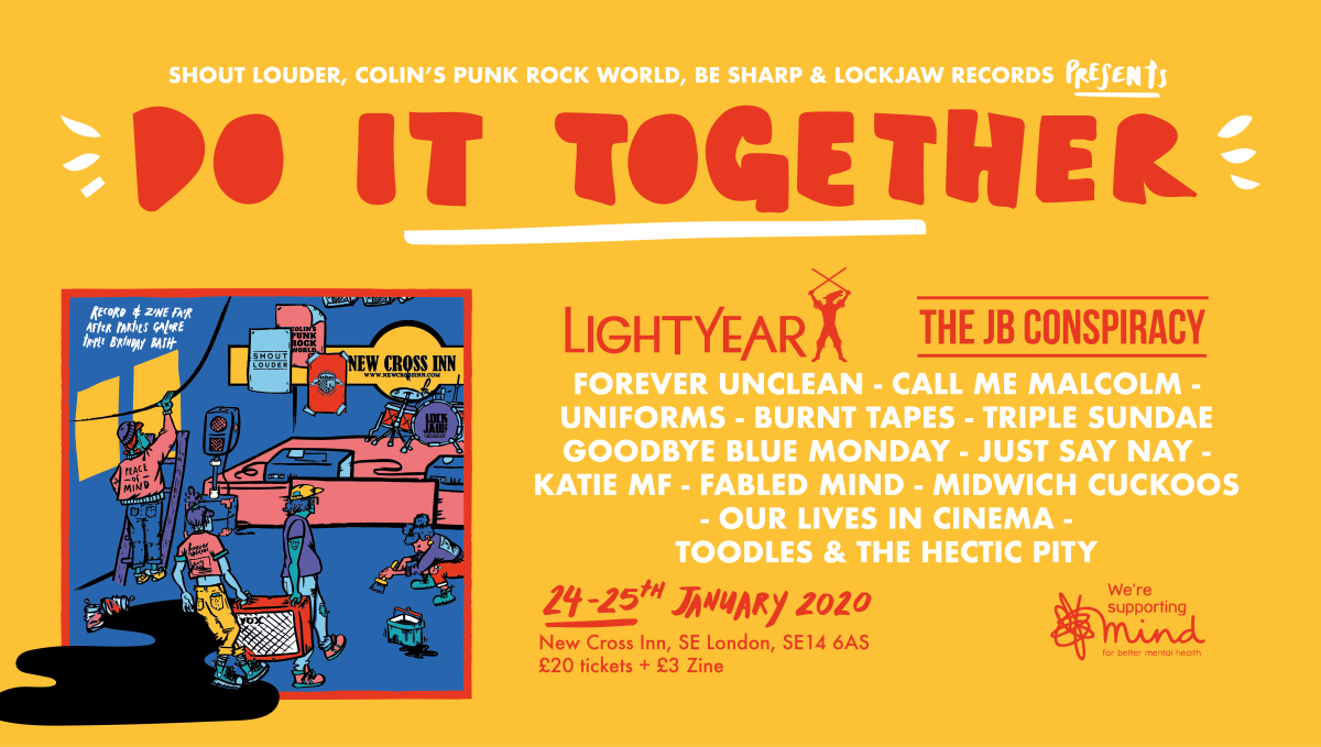 News: Day Splits Announced For Do It Together Fest