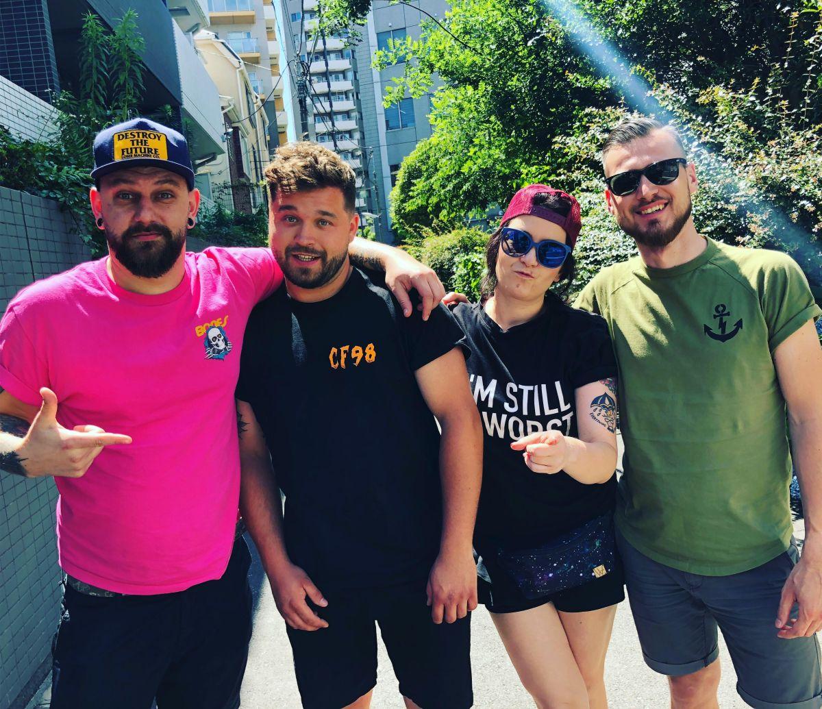 Punk Rock Tour Tales #6: Mateusz & Karolina fromCF98