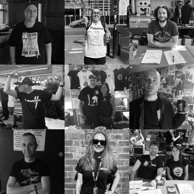 Manchester Punk Fest Volunteers