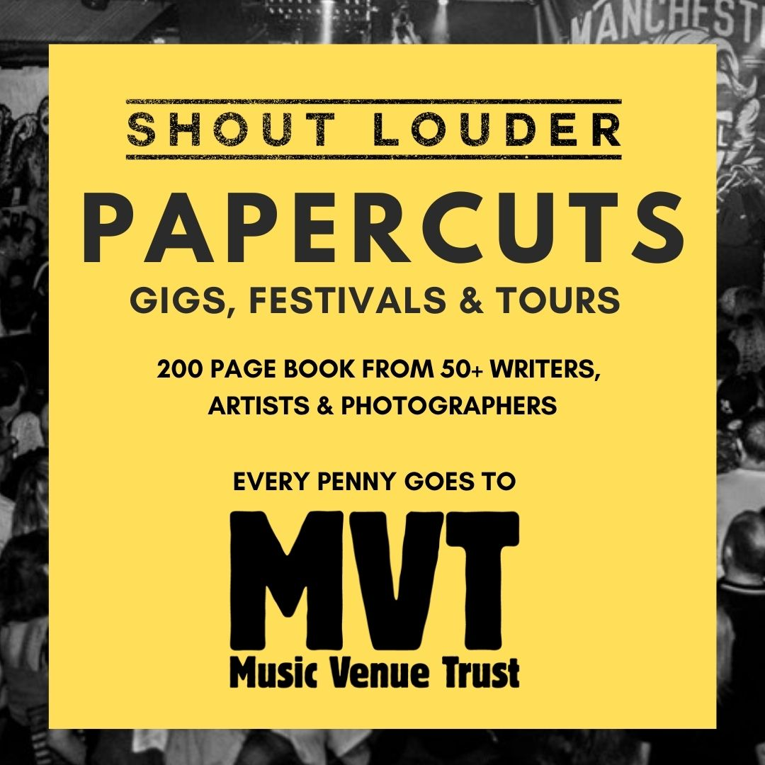 Shout Louder Launches PAPERCUTS #2 Pre-Order